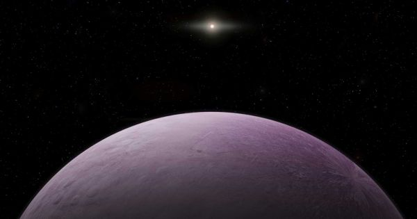 Astronomers just discovered a dwarf planet three times as far away as Pluto