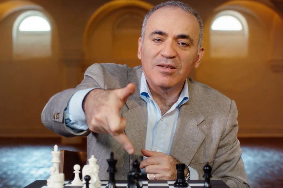 Garry Kasparov Masterclass Online Courses.
