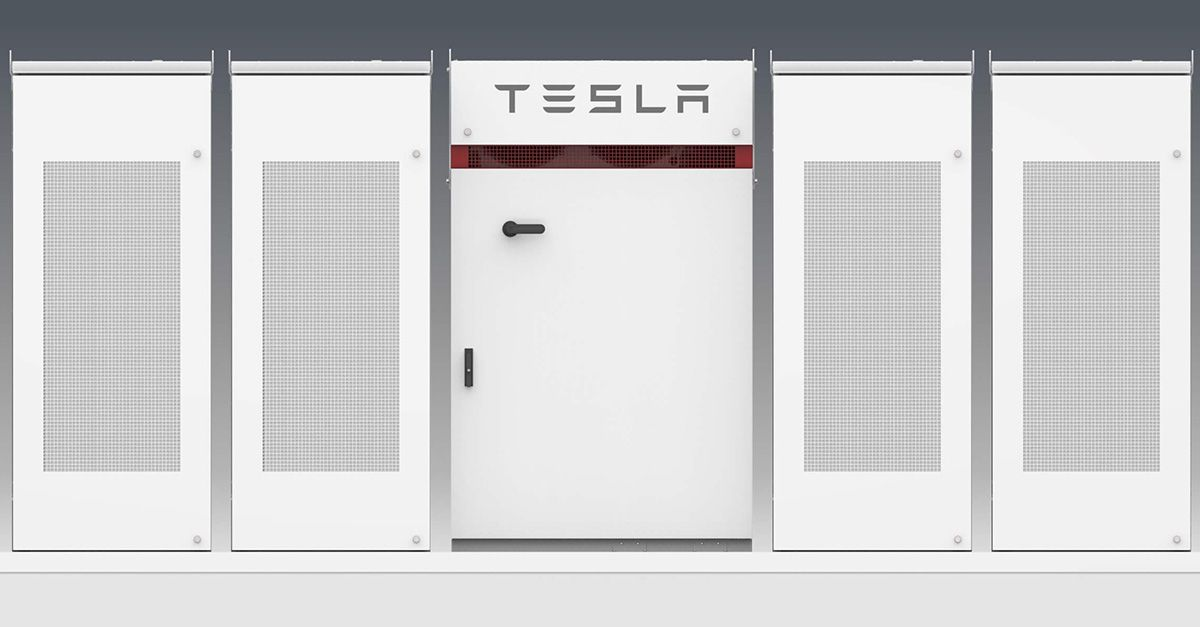 "New Details About Tesla's Gargantuan ""Megapack"" Power"