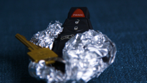 Keys wrapped in tin foil can help protect your car from a sophisticated hack attack.