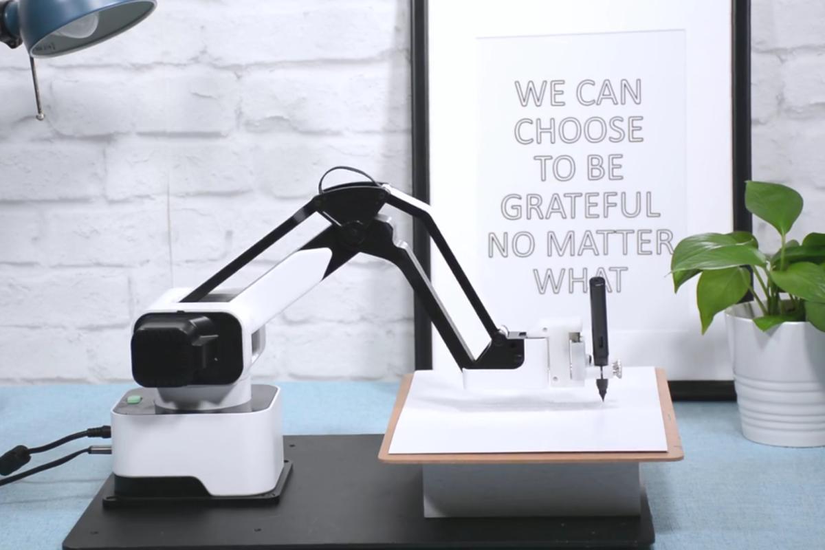 The Hexbot Robotic Arm.