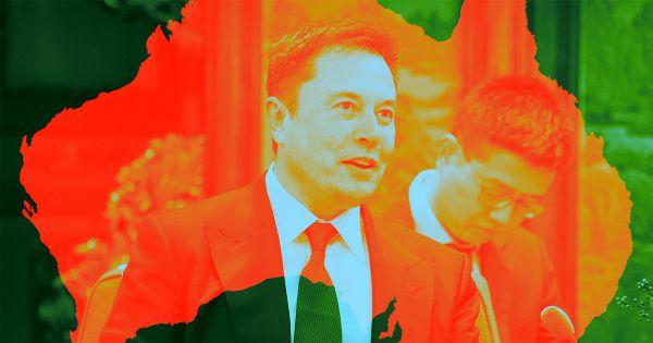 Elon Musk just offered to drill a hole through an Australian mountain