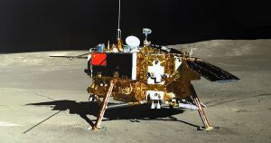 China's moon lander just sent back more pictures, including a 360 degree panorama, and a video taken during its landing.