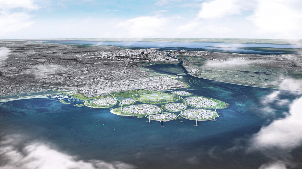 Denmark Is Building Nine Gigantic Artificial Islands