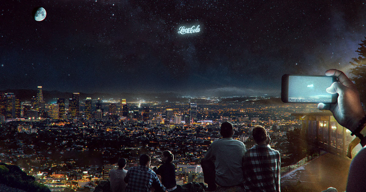 This Startup Wants to Launch Giant Glowing Ads Into the