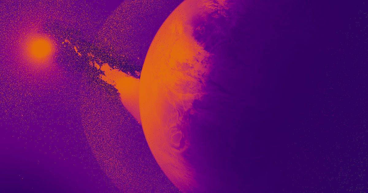 Astronomers are watching a Neptune-sized exoplanet disintegrate