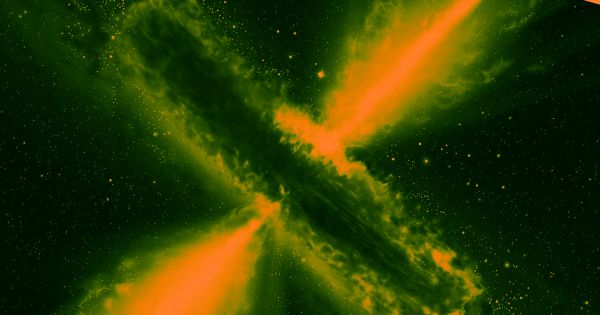 Newly Spotted Quasar Is 600 Trillion Times Brighter Than the Sun