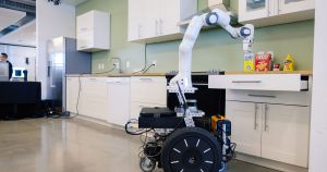 Collaborative robots, or cobots, are the future, according to NVIDIA. And an Ikea kitchen could speed up their development,
