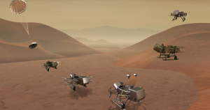 Later this year, NASA might decide to fund a Johns Hopkins University mission that would send a drone to Saturn's largest moon Titan.