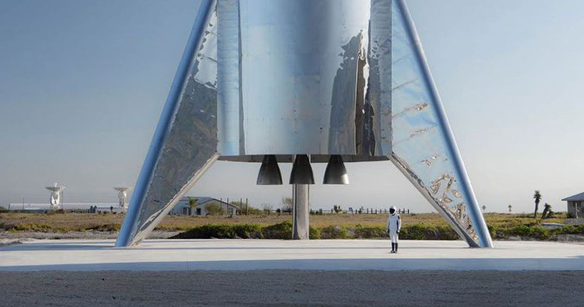 spacex starship will  u201cbleed water u201d from tiny holes  says elon musk