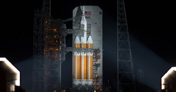 The U.S. is planning to launch a classified spy satellite today