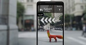 Google is letting a select few users test out a new AR navigation feature for its Maps app, providing a glimpse of the future of navigation.
