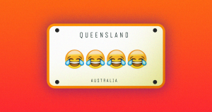 As of March 1, drivers in Queensland, Australia will be able to include one of five emoji in their license plates — a startling break from tradition.