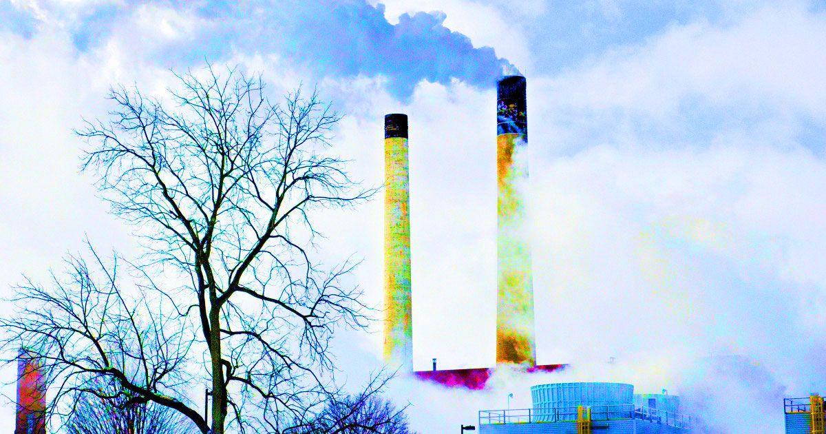 Carbon Dioxide Scrubbing at Coal Plants