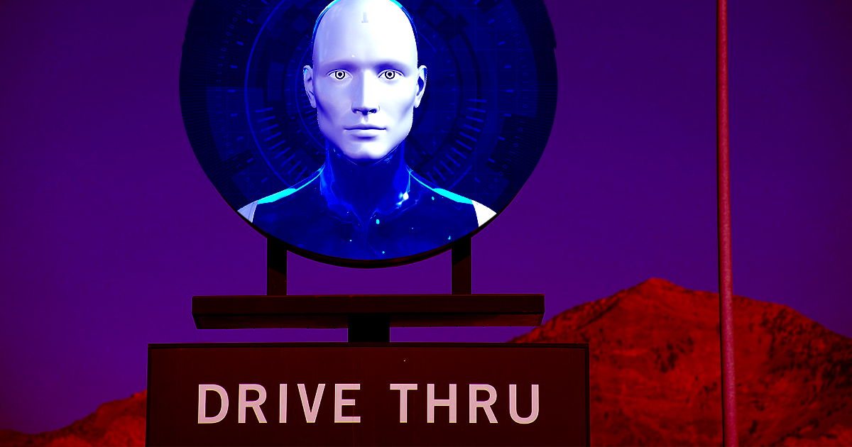 This Fast Food Drive-Thru Is Now Using AI to Take Orders