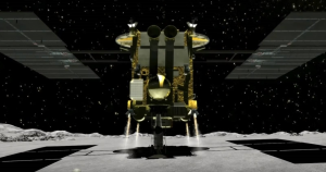 Japanese spacecraft Hayabusa2 just touched down on the surface of Ryugu for the third time to collect samples after firing a bullet at its surface.