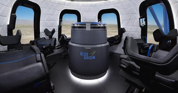 """Jeff Bezos: New Shepard Will Launch First People Into Space """"This Year"""""""