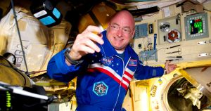 Former NASA astronaut Scott Kelly announced Tuesday that he's running for Senate in Arizona — and positioned himself as a defender of science.