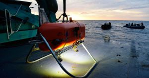 NASA and the Woods Hole Oceanographic Institution are working on sending an underwater drone to the deepest points of the Earth's oceans.