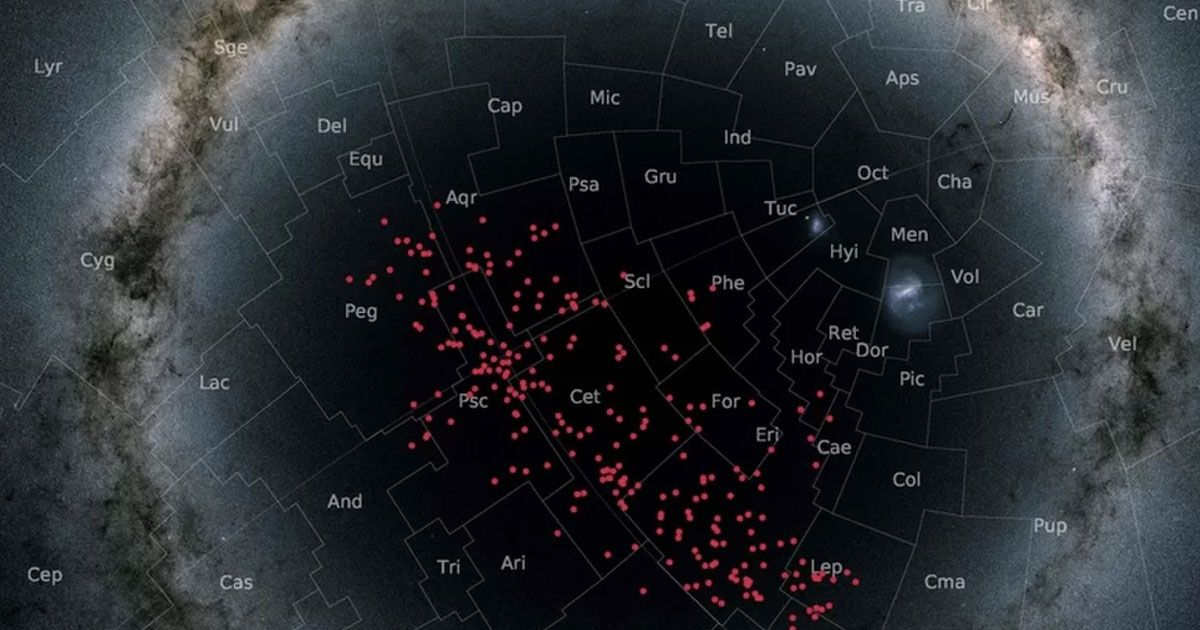 """Scientists found a """"river of stars"""" flowing through the Milky Way"""