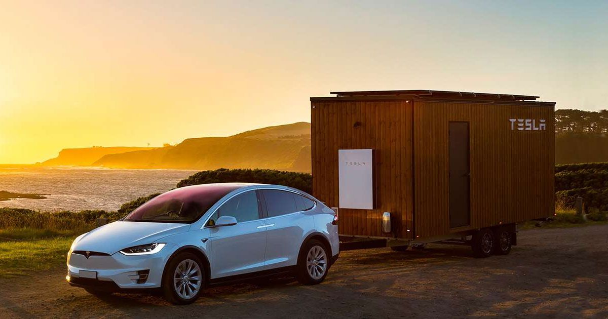 "Teslas Are Getting a ""Party and Camping Mode"""