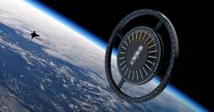 The Gateway Foundation showed off its latest vision of the future: the Von Braun Rotating Space Station.