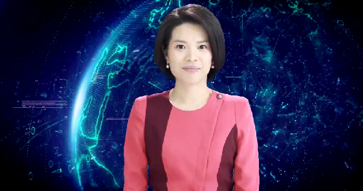 China Unveils the World's First Female AI News Anchor