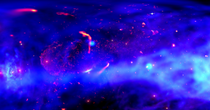 This ultra-high-definition 360 degree visualization comes courtesy of data collected by the Chandra X-ray Observatory and NASA's Ames supercomputer.