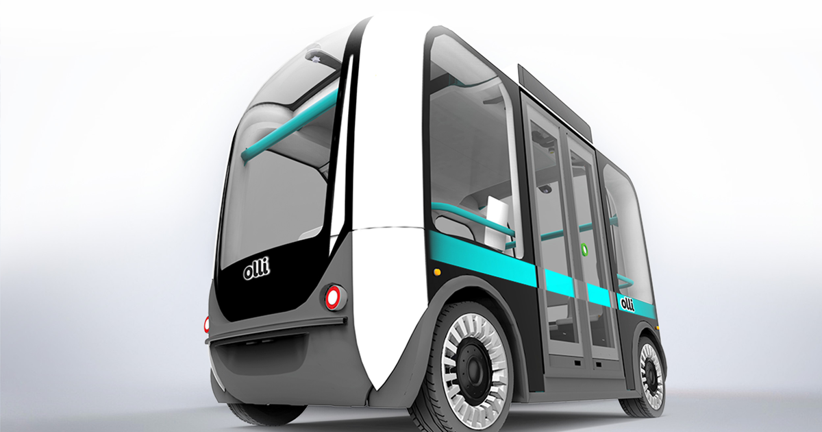 Watch a 3D Printed Self-Driving Shuttle Smash Into a Wall