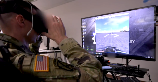 The U.S. Army Is Using Virtual Reality Combat to Train Soldiers