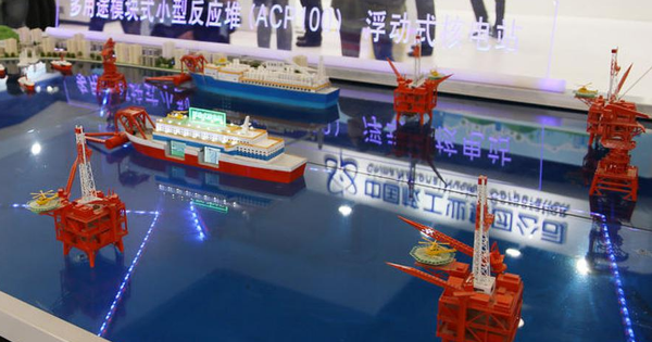China Is Building up to 20 Floating Nuclear Power Plants