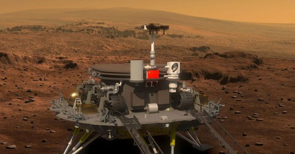 China Plans to Launch a Mars Rover Next Year