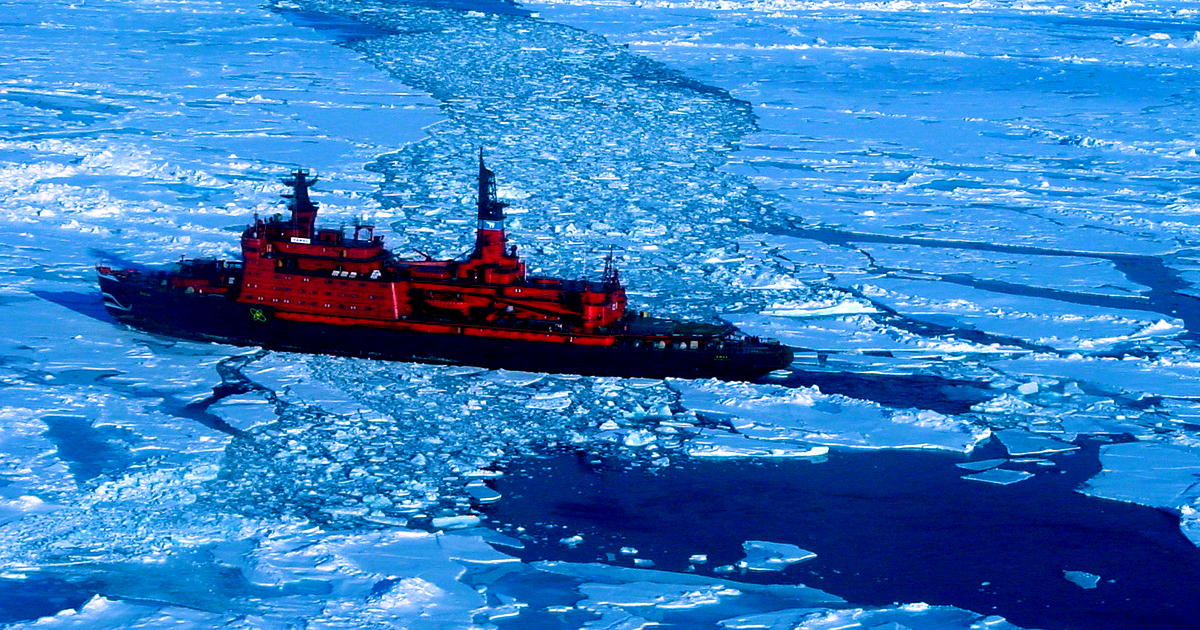 China Is Building a 33,000 Ton Nuclear Icebreaker