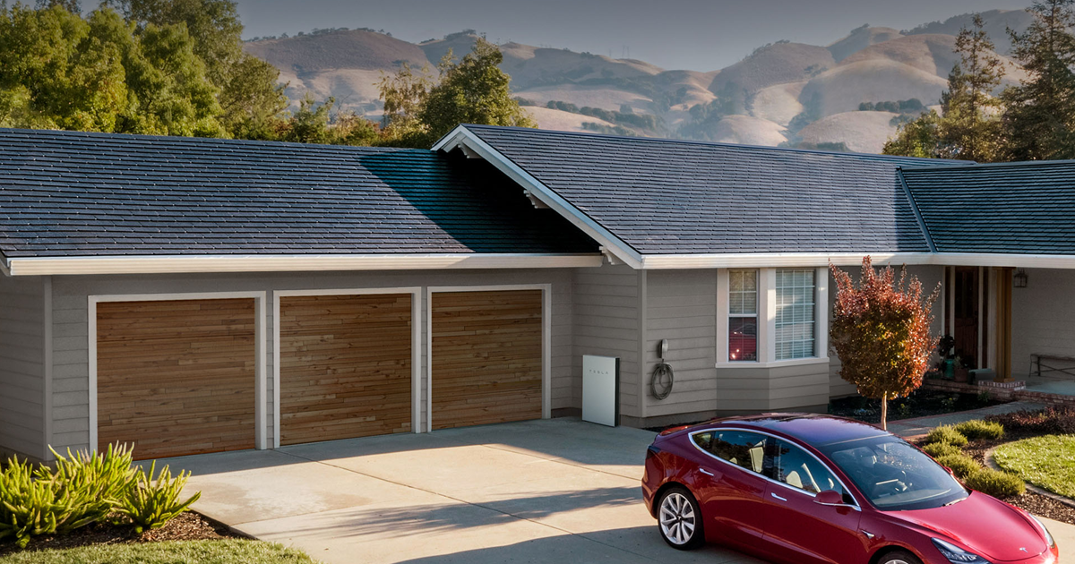 """Elon Musk: 2019 Will Be """"the Year of the Solar Roof"""""""