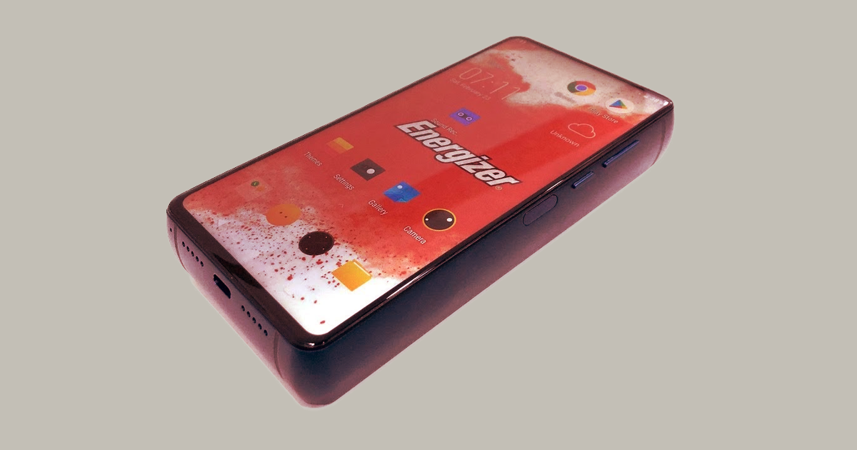 Energizers Brick Like New Phone Has A Battery That Lasts 50 Days