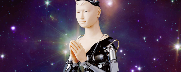 People in Japan Are Worshiping a Cyberpunk-Looking Robot Goddess