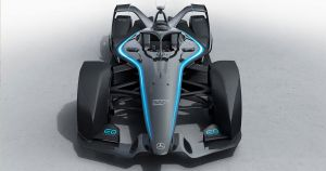Mercedes-Benz just revealed its first all-electric racecar for the upcoming Formula E series at the 2019 Geneva Motor Show.