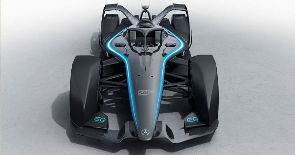 Mercedes Benz First All Electric Racecar Is Equipped Like