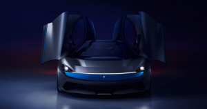 Italian carmaker Pininfarina just revealed the Battista at this year's Geneva Motor Show: a road legal 1900 horsepower hypercar.