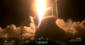 SpaceX successfully launched its (uncrewed) Crew Dragon spacecraft on a Falcon 9 rocket from NASA's Kennedy Space Center at 2:49 am EST this morning.