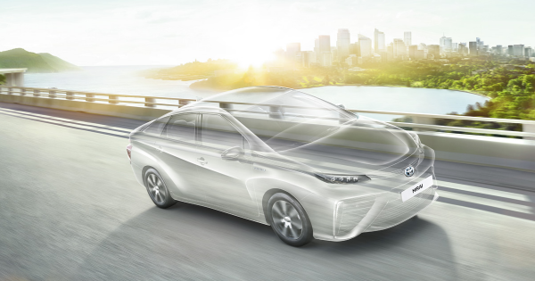 Toyota is Selling a Hydrogen Fuel Cell Car for $50,000