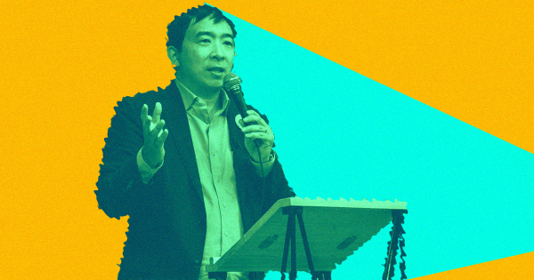 Presidential Hopeful Andrew Yang Plans to Campaign Via Hologram