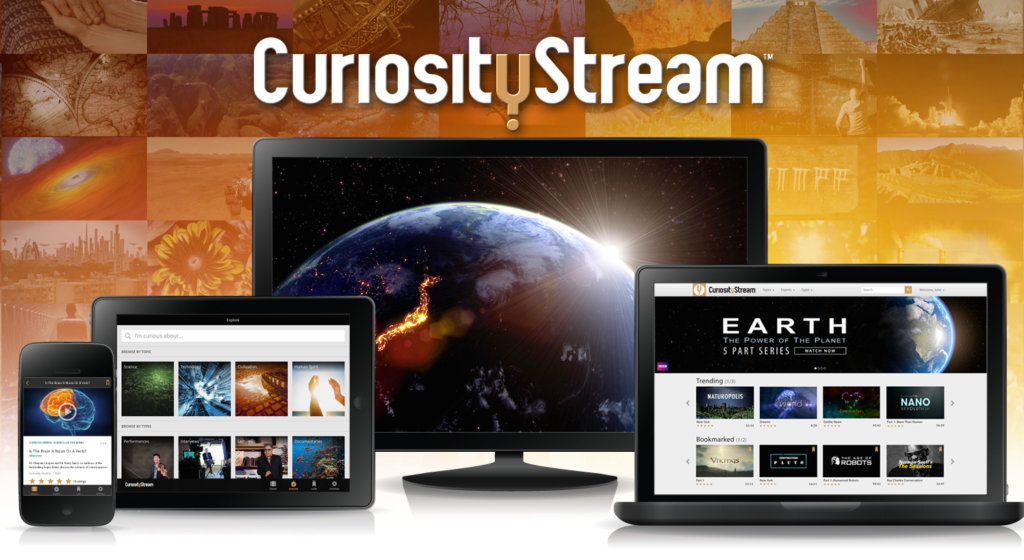 CuriosityStream science nature history documentary vod streaming service