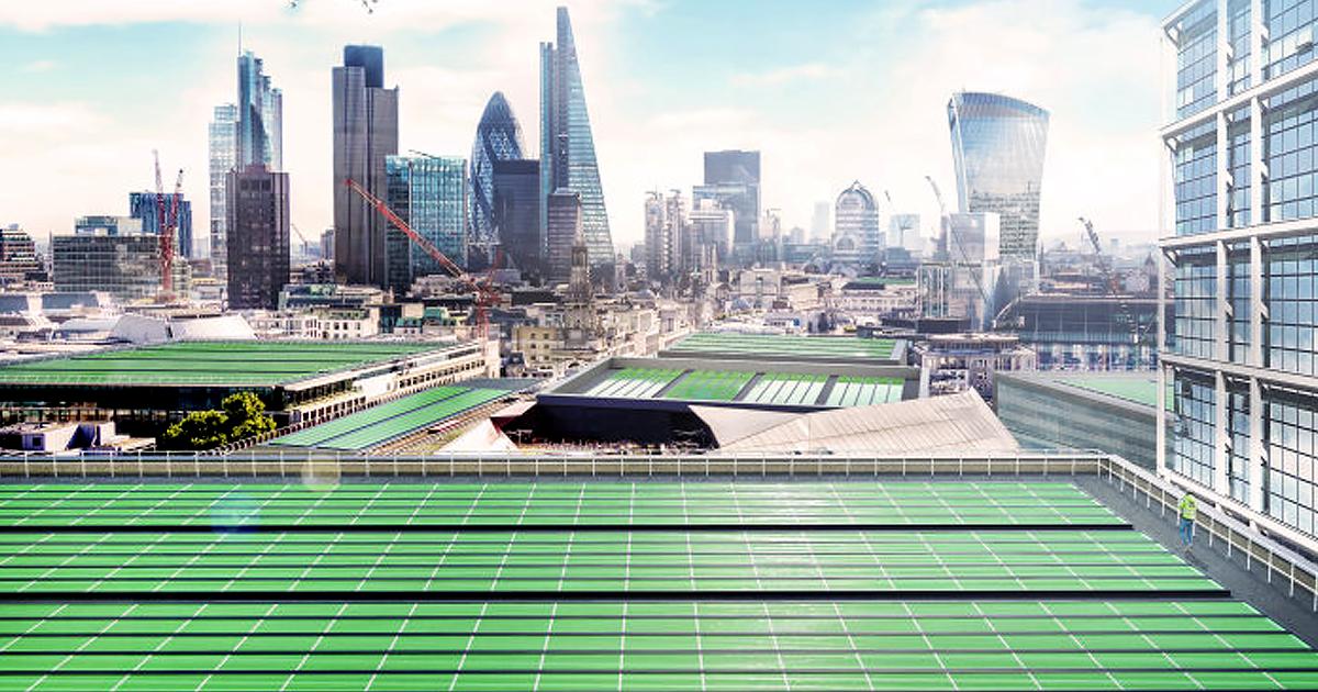 """BioSolar Leaf"" Tech Will Pull Pollution from London Air"