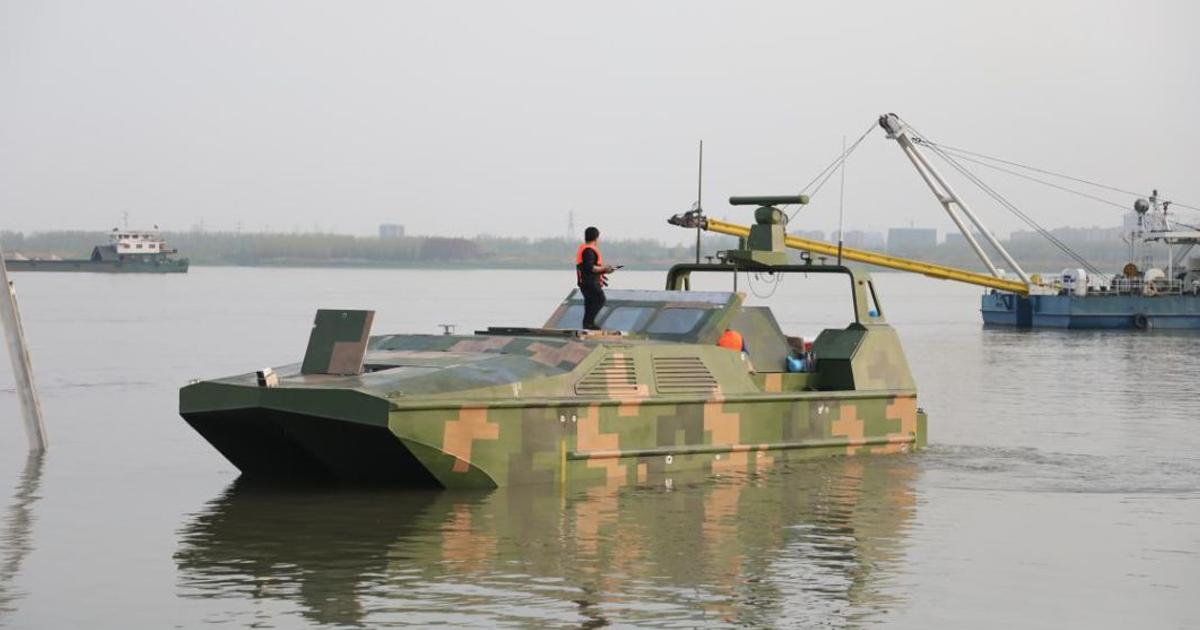 China U2019s Military Built An Autonomous Amphibious Landing