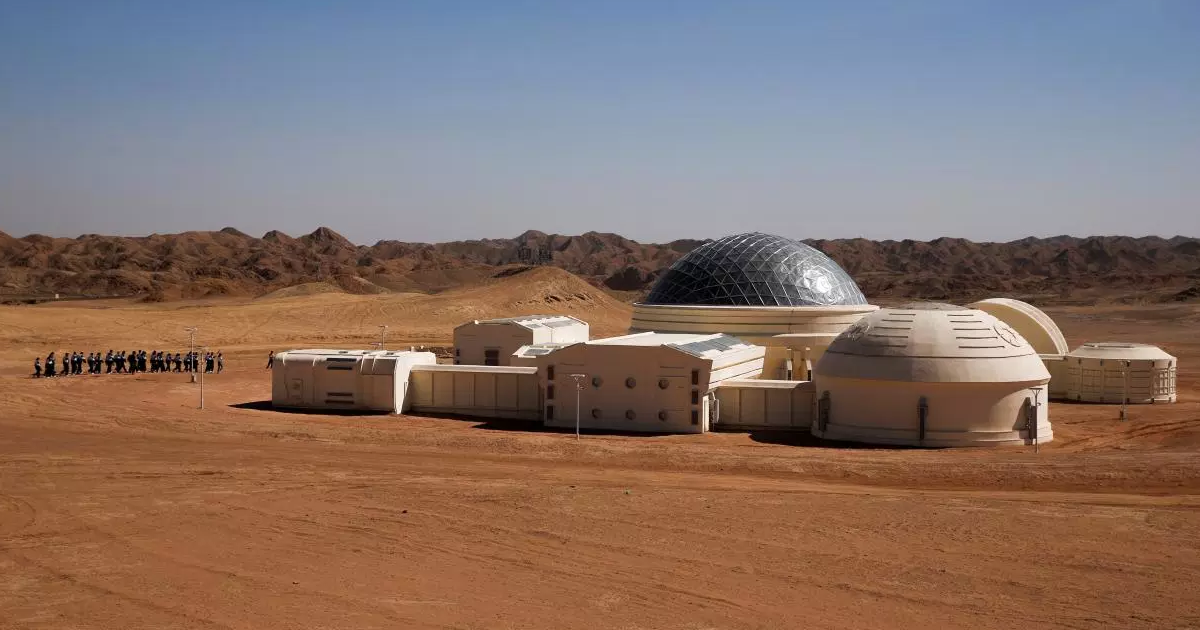 China Is Sending Teens to a Simulated Mars Colony