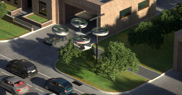 Study: Flying Cars Could End Up Being Greener Than Electric Cars