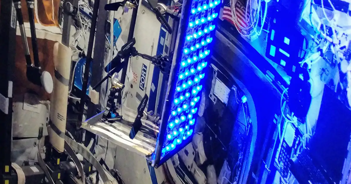 This Space Roomba Could Clean the ISS While Astronauts Sleep