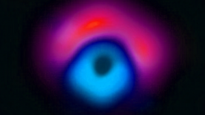 A language professor created the black hole's name, Pōwehi, by combining two words from an 18th-century Hawaiian chant called the Kumulipo.