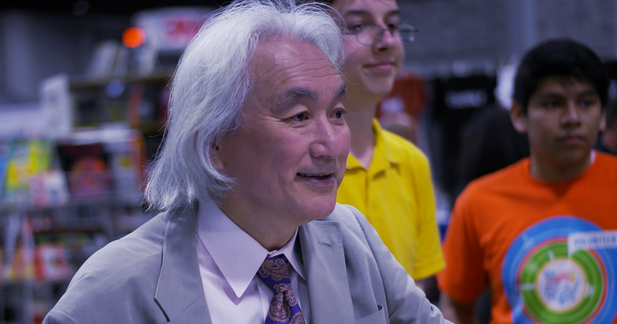 """Michio Kaku Thinks We'll Prove The """"Theory of Everything"""" by 2100"""